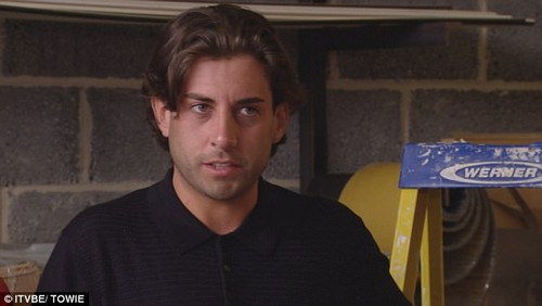 Explosive: After a year away from Essex, James 'Arg' Argent finds himself at the centre of the drama as he makes an explosive return and confronts an emotional Gemma Collins on the latest episode of TOWIE
