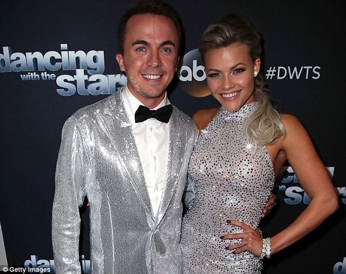 Frankie Muniz (left) has suffered from nine concussions and more than 10 mini-strokes. This has caused him to have memory problems. He spoke about his issues during a segment that aired Monday during Dancing with the Stars. Witney Carson (right) is his dance partner