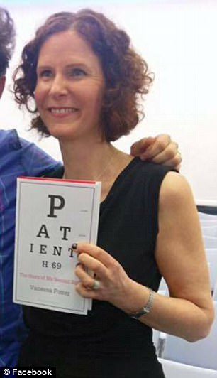 Vanessa has documented her experience in a book called Patient H 69