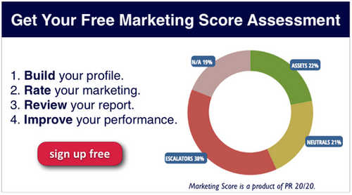 Register for Your Marketing Score Brief