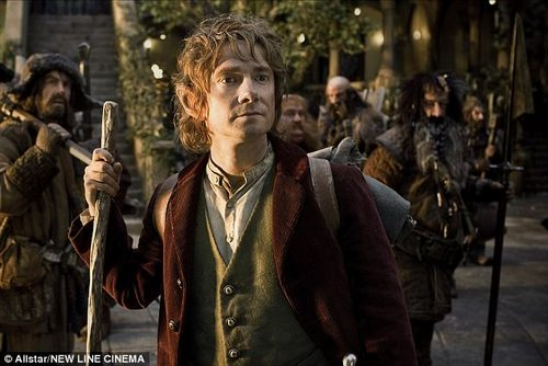 Change of direction: Martin hinted that the huge boost to his fame and fortune in recent years - including his lucrative lead role in The Hobbit - could have played a part in the break up