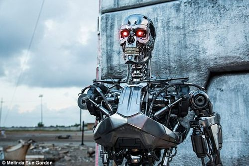 Estonian officials are working on legislation that will grant robots and artificial intelligence (AI) legal status, reports suggest. The move has led some to draw parallels with the sentient robots created by Skynet in the Terminator film franchise (pictured)