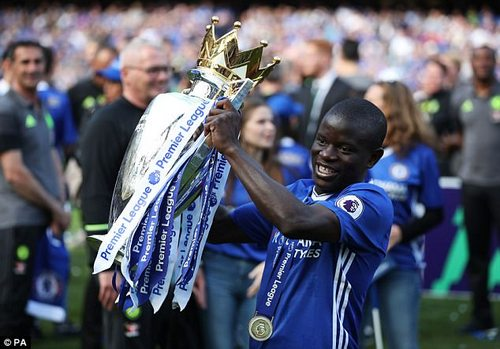 The France international was part of the Chelsea side that won the Premier League last year