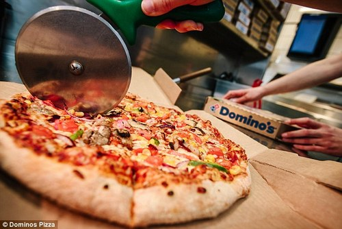 Domino's latest advertising campaign 'The Official Food of Everything' drove 200,000 online orders on the last Saturday of September alone - the equivalent of 140 orders a minute.