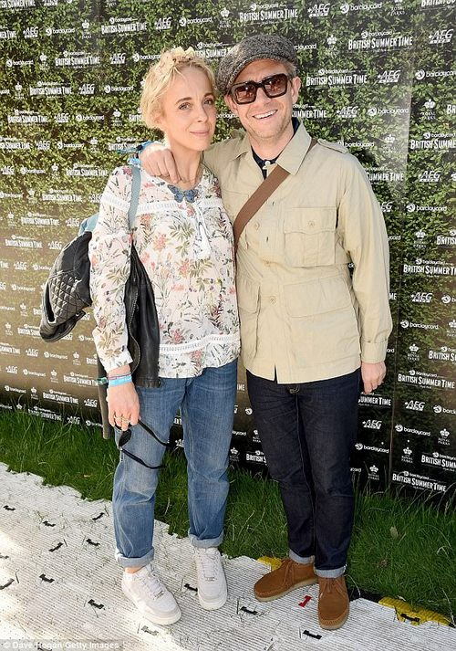 Moving on: The couple have been together since 2001 and share two children