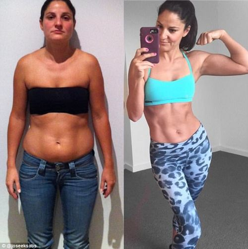 Melbourne mum-of-two Joanne Peters , 41, is a huge believer in intermittent fasting - she previously suffered from anxiety and depression before she decided to change her life and now sticks to intermittent fasting religiously
