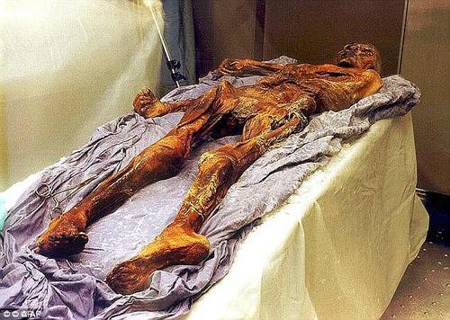 His perfectly preserved body is stored in his own specially designed cold storage chamber at the South Tyrol Museum of Archaeology in Italy at a constant temperature of -6°C (21°F)
