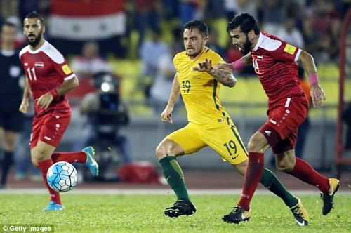 Socceroos coach Ange Postecoglou said it would be 'flippant' to underestimate Syria, a side he said had 'strikers playing in some pretty strong leagues and scoring goals'