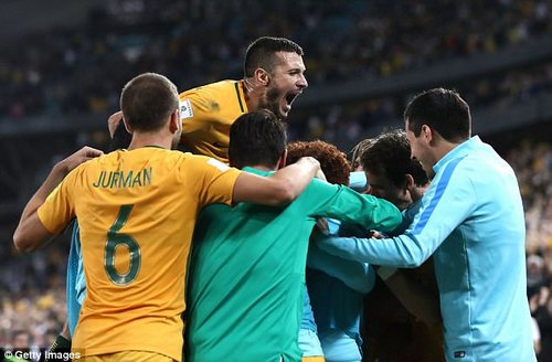 Australia now head to an intercontinental playoff, where the winner qualifies for the World Cup