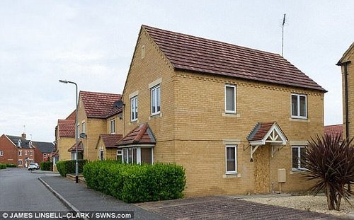 Collins was Tasered after he jumped from a window of this house in a bid to get away, the jury were told today