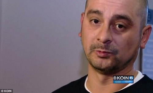 Aguilar-Estrada's brother-in-law Mike Keymolen (above) told KOIN at Molina's sentencing that the victim was 'a loving person.' He added that he wished that Oregon had the death penalty