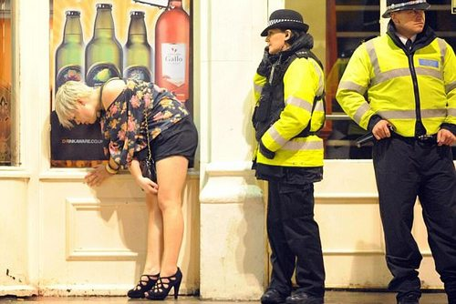 The event was reportedly aimed at freshers. Freshers' Week has become notorious for students drinking too much