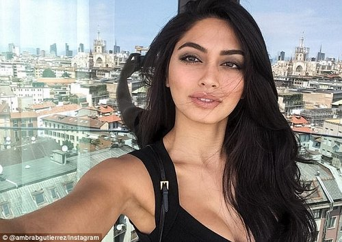 Recording: ModelAmbra Battilana (above) can be heard repeatedly rejecting Weinstein's requests to have her join him in his bedroom