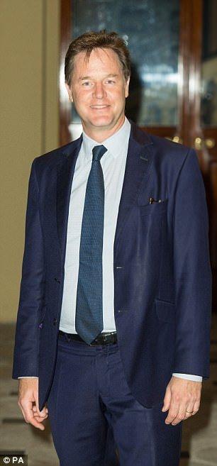 Former Deputy PM Nick Clegg