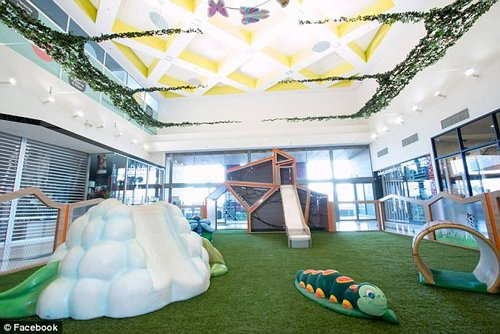 Waverley Gardens Shopping Centre took to Facebook earlier this week to share the new play centre