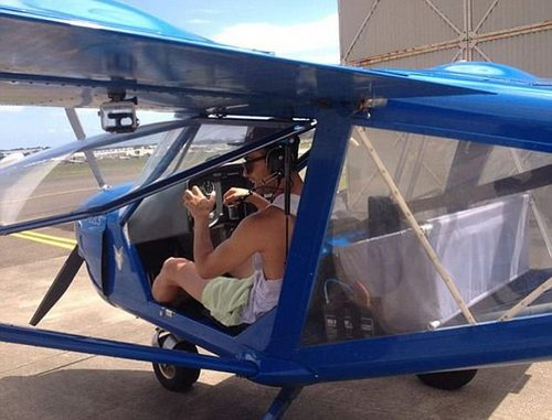 New staff can choose from a range of options including learning how to fly a light aircraft solo