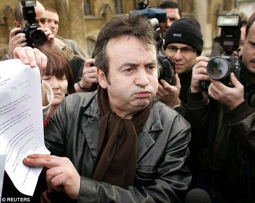 Before his death Conlon left all of his private papers, correspondence and other life documents to O'Rawe. He also gave him detailed verbal accounts of his long battles with drug addiction after being freed from prison. He is pictured in 2005 with a handwritten apology from Tony Blair for being wrongly convicted