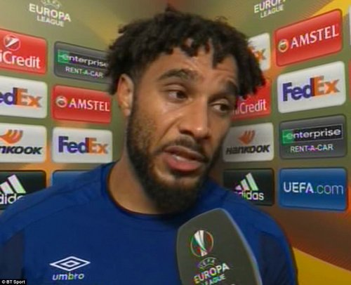 After the match, Williams played down his fight, saying: 'It's football and stuff happens. It was one of them things I suppose'