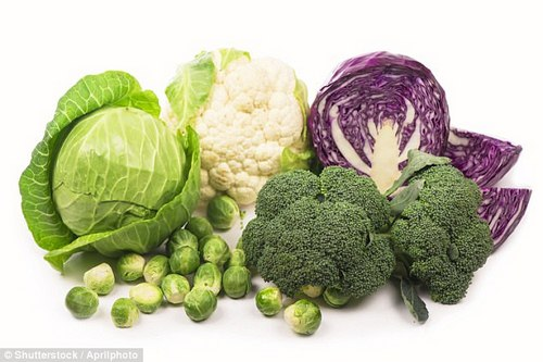 Brussels sprouts, kale and cabbage support the liver and can help detoxify alcohol from the body