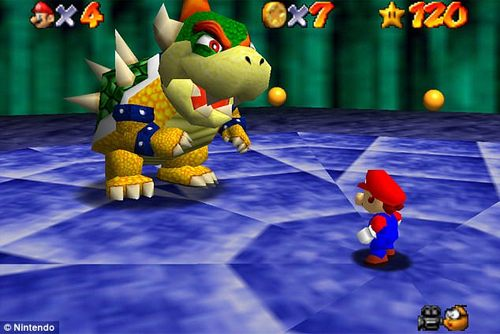 Completing the puzzles and killing enemies as 'Mario' - the famous character - for 30 minutes five nights each week can boost memory, scientists found