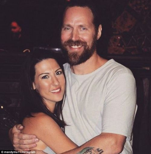 """The couple got engaged when Rob was diagnosed: 'I think I had a catheter in... it really wasn't very romantic but we didn't have time for the whole """"down on one knee thing"""", I was weak'"""