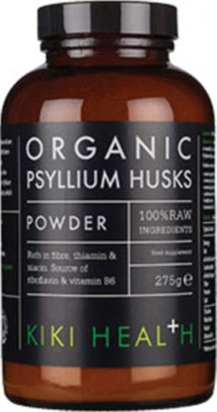 KIKI Organic's Psyllium Husk Powder provides 2.7g of fibre per serving