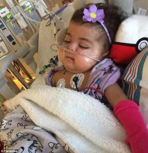 The transplant caused an artery to close, which pumps blood to the liver, but miraculously the artery has opened on its own and she is expected to go home next week