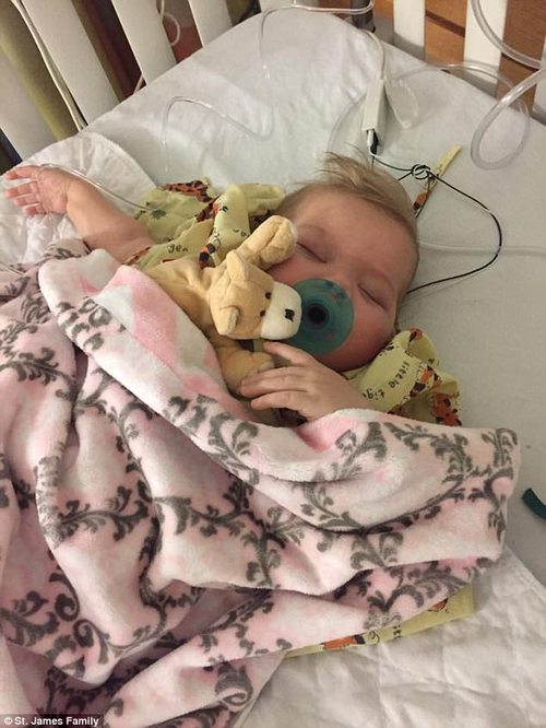 Sloan underwent a liver transplant in September which saved her life, though now she is battling with her body which is partially rejecting it