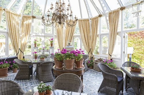 It means business: 'Oakley Court sets a high standard of eco-conscious luxury which shows respect to its lovely scenic setting and for the environment in general,' says the AA's Oxley