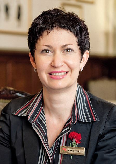 Tzveta Ivanova is a core employee at Kensington's Milestone Hotel