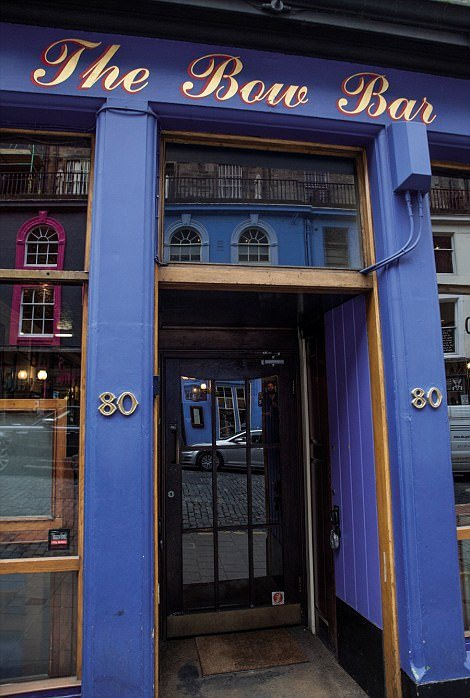 The Bow Bar, in Scotland, is much-loved by locals and visitors