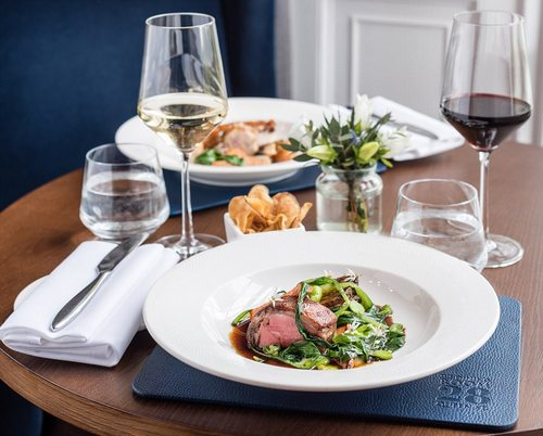 Yum: It was praised for its Scotch Malt Whiskey Society partnership which 'offers an experience steeped in French classicism'