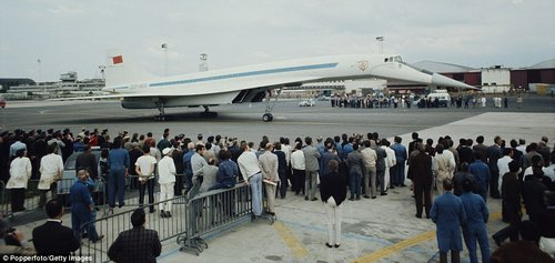 The Tupolev Tu-144 continued to fly cargo routes until it was finally grounded in 1983. In total, 17 of the models were built and around 100 commercial flights completed