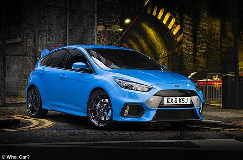 There's been a lot said about the Focus RS, but it just misses out on the top spot in our list. For £32,000 it is good value against many of the hot hatches in this top 10 countdown