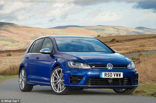 This is the Golf that gazumps the GTI. Volkswagen decided it wanted almost 300bhp from its headline hot hatch and has thrown four-wheel drive into the equation too