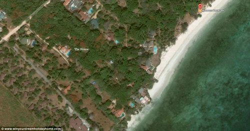 James found the plot of land for his dream holiday home more than a decade ago after doing lots of research