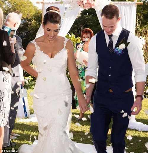 The young couple were also in Fiji to celebrate the wedding of a friend