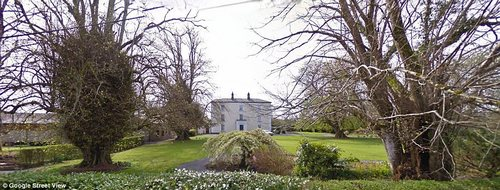 Irish getaway: This elegant 17th-century manor in landscaped grounds is popular among locals and visitors alike