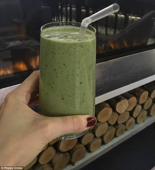 Gwyneth claims to start each day with a ten-ingredient smoothie costing a staggering £354