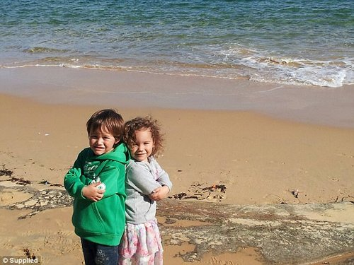'We spent most of our time on the beach or playground as I got used to life on my own'