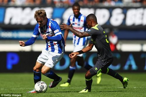 Odegaard now looks a physical match for his opponents despite his relatively young age