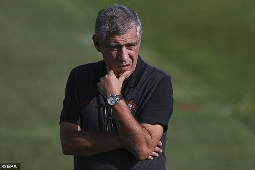 Fernando Santos' side have lost once in qualifying, 2-0 to Switzerland in Ronaldo's absence
