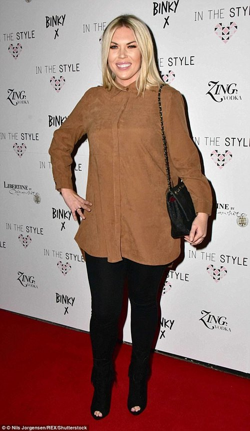 Blast from the past! The former TOWIE star initially courted attention after she lost two stone in weight