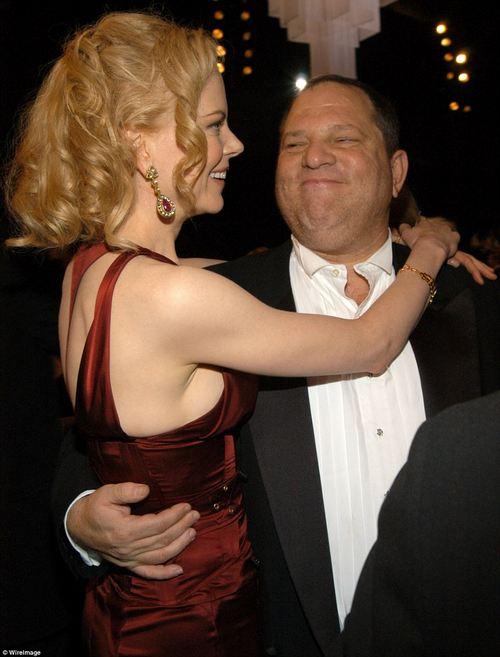 Close: With seven-time film collaborator Nicole Kidman