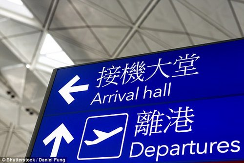 The flight was scheduled to depart Hong Kong at 6:10pm local time and arrive at Los Angeles at 4:30pm local time