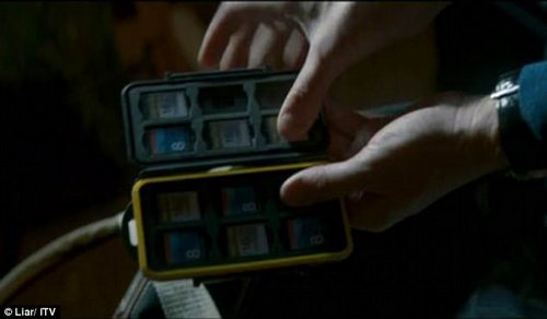 It was also shown that he had nine memory cards in total, which could potentially be the total of his previous victims