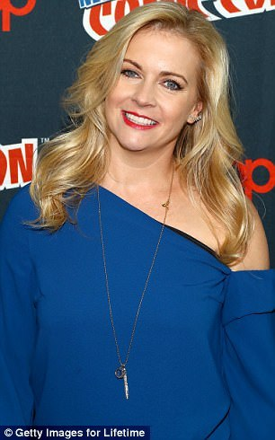 Oh no: At the end of season four, after one spell too many, Harvey realizes Sabrina, played by Melissa Joan Hart (pictured) is a witch and breaks up with her