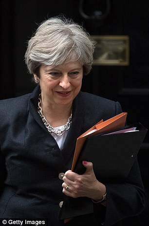Theresa May leaves Downing Street as HMRC promises a new customs regime from 'day one' following our exit from the EU