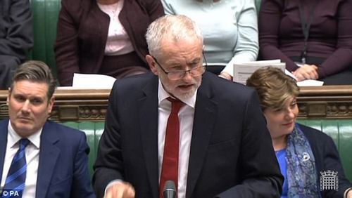 It was the Tories¿ chance to laugh when Jeremy Corbyn said the Government was in ¿confusion¿ over Brexit