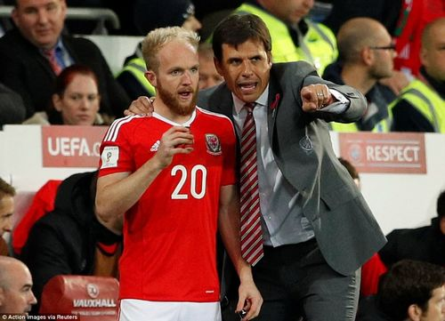 Coleman entrusts Jonny Williams with the responsibility of replacing Allen after 37 minutes had been played in Cardiff